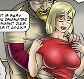 Chesty gal give in to her boss' kinky wants. Reckless By Erenisch.