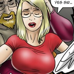 Blonde fingered by new male mentor. - BDSM Art Collection - Pic 1