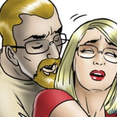 Blonde fingered by new male mentor. - BDSM Art Collection - Pic 2
