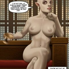 Magistrate encounters hot naked elf - BDSM Art Collection - Pic 3