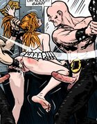 All holes occupied while a hottie is gangbanged. Gentlemens Club 3 By