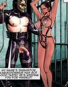 Enslaved hottie cries in captivity. Dominus  By Aquila.