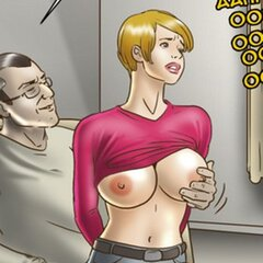 Bound slave's cute butt is taken - BDSM Art Collection - Pic 4