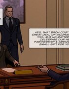 Lawyer's kinky assistant prepared his boss a pretty good surprise. Objection