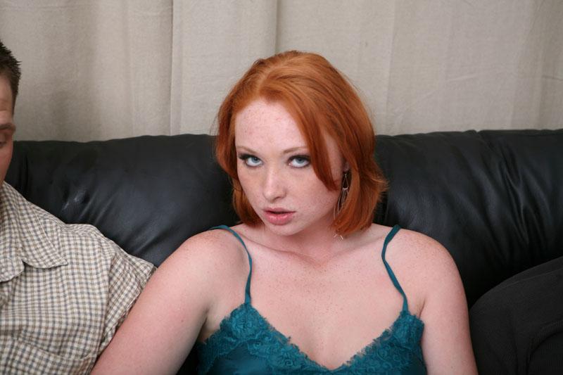 We love nude redhead