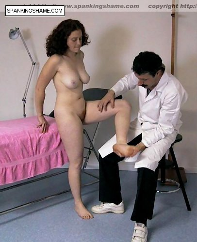 Spanking naked by doctors — pic 3