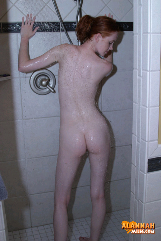 Redhead porn. In The Shower|15|Teen|Alannah - XXX Dessert - Picture 4