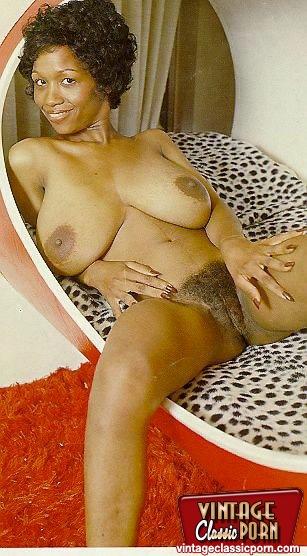 Sylvia vintage mcfarland ebony retro