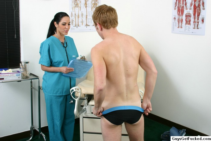 Teen boy medical examination gay porn his