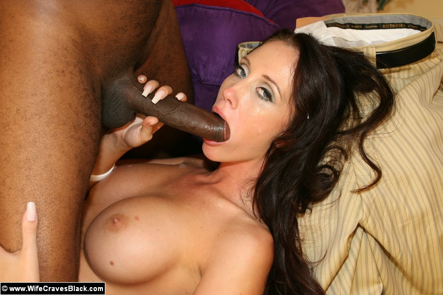Girl craves huge black cock