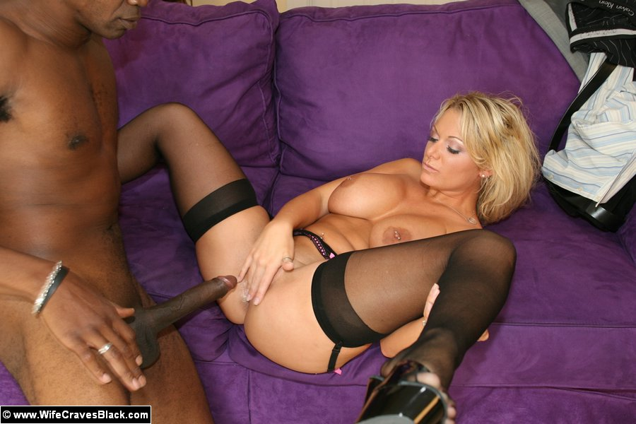 My wife craves black cock