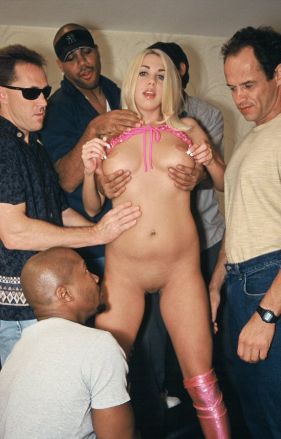 Girl get fucked by multiple men