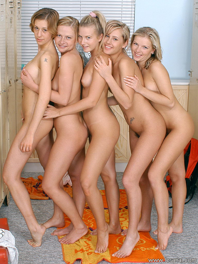 Girls Changing Locker Room