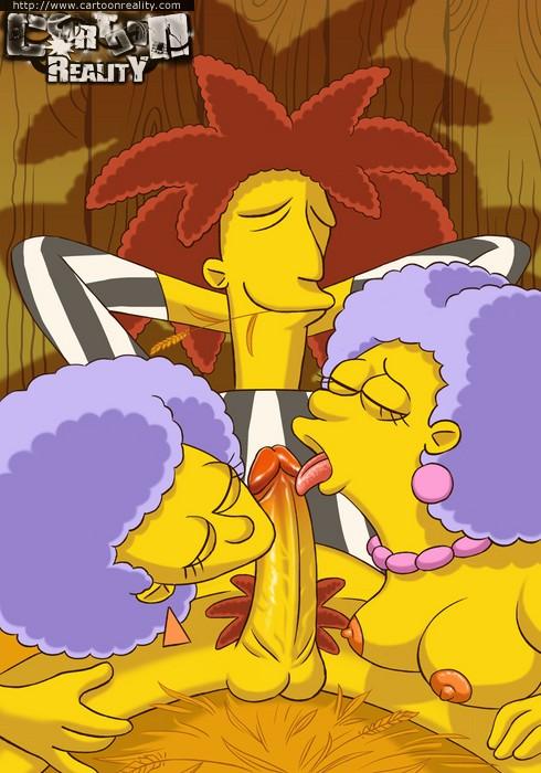 Sexy comics  Simpsons try hardcore  - XXX Dessert - Picture 5