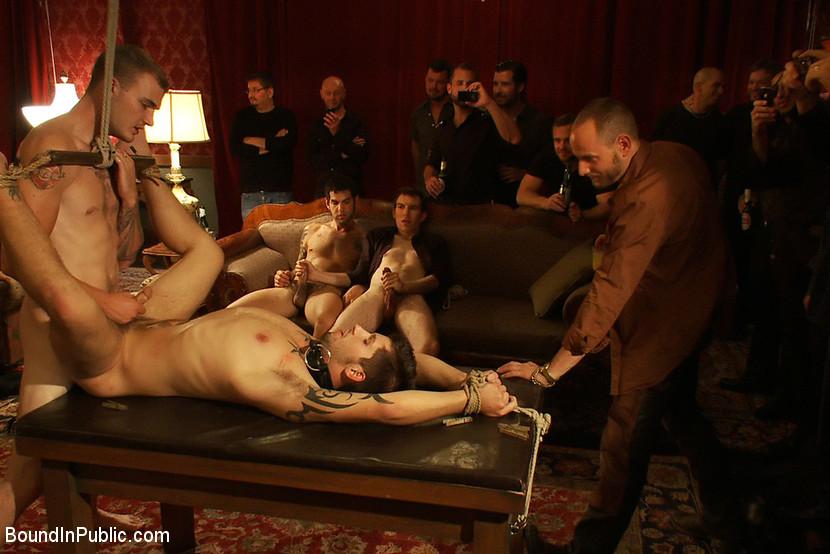 Hardcore public gay porno