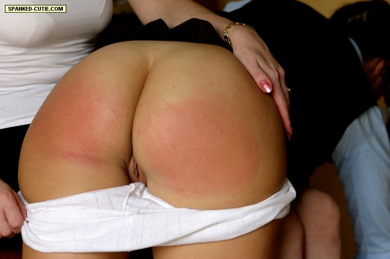 Hot Spanked Bottoms - Spanking porn. Spanked cutie. - XXX Dessert - Picture 11