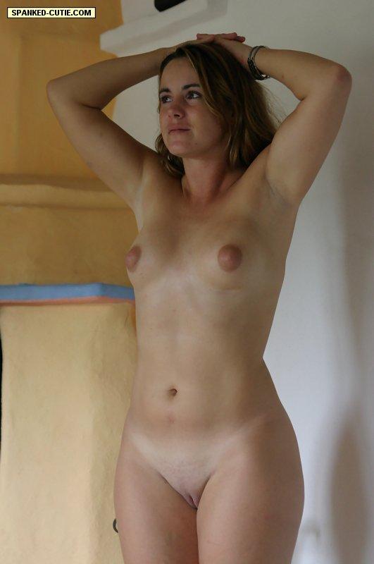 Spanking Naked Cute Blonde Paddled On Her - Xxx Dessert -8716