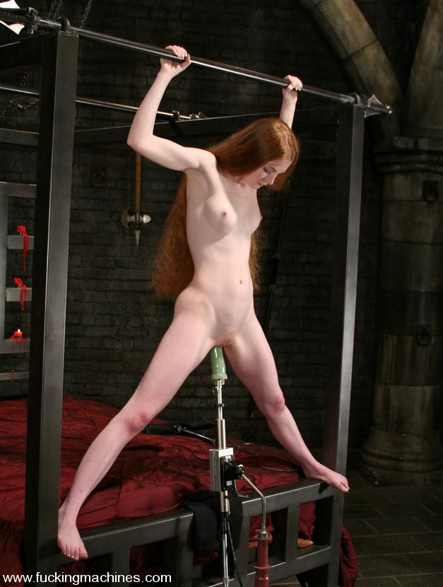 Sex Machine Xxx Lovely Red-Head Gets Tied - Xxx Dessert -7783