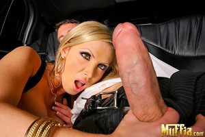 Monster dick. Amazing big tits porn star - Picture 5