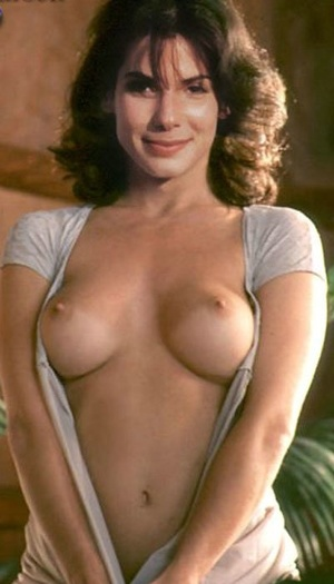 Nude celeb porn. Hot celeb Sandra Bulloc - XXX Dessert - Picture 9