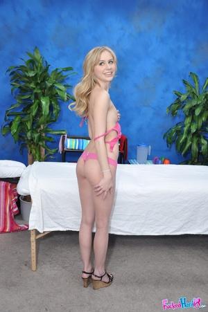 Teen porn. Hot 18 year old blonde fucks  - XXX Dessert - Picture 4