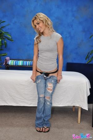 Young teen girls. Hot 18 blonde gets fuc - XXX Dessert - Picture 3
