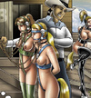 These poor bdsm art slave babes forced to fullfil dirty desires.