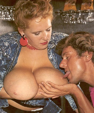 Porn two hairy seventies ladies with mega boobies