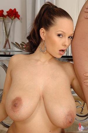 Big titties. Dominno Katarina's lesbio s - XXX Dessert - Picture 12