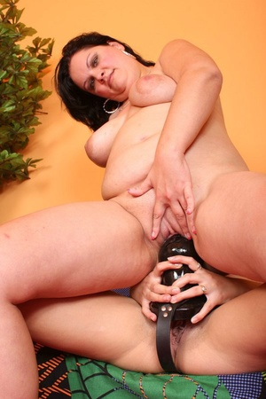 Lesbian xxx. Lesbians fuck big strap ons - XXX Dessert - Picture 8