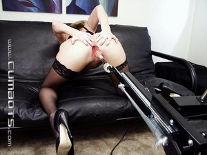 Sex machine xxx. Amber Michaels. - XXX Dessert - Picture 8