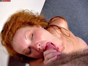 Redhead porno. Busty DD Redhead sucks co - XXX Dessert - Picture 6