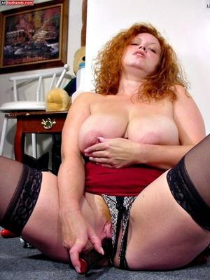 Redhead porno. Busty DD Redhead sucks co - XXX Dessert - Picture 15