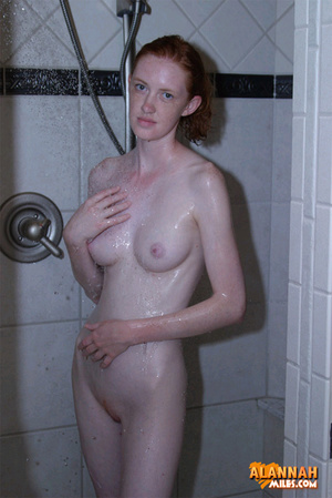 Redhead porn. In The Shower|15|Teen|Alan - Picture 1