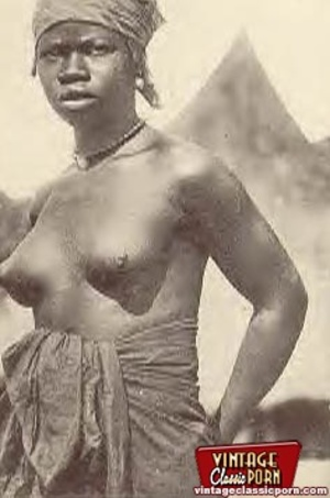 Nude african african