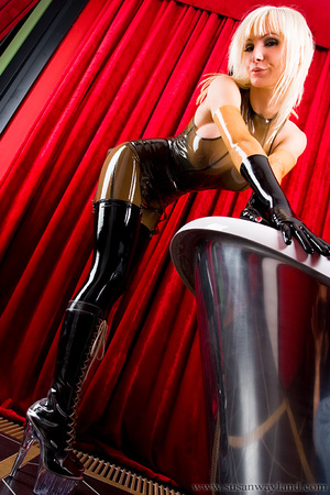 Rubber erotic. Wet Shiny Latex Layers. - XXX Dessert - Picture 9