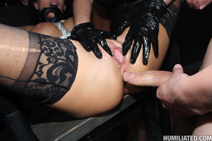 Sperma. Slutty whore disgraced with gall - XXX Dessert - Picture 2