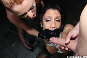 Sperma. Slutty whore disgraced with gall - XXX Dessert - Picture 12