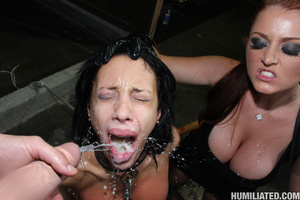 Sperma. Slutty whore disgraced with gall - XXX Dessert - Picture 15