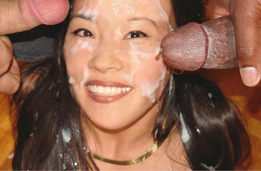 Lucy liu giving blow job xxx