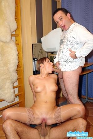 Rim job porn. Horny secretary loves to m - XXX Dessert - Picture 10