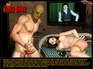 3d toon sex. The Call Girl. - XXX Dessert - Picture 1
