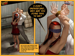 3d redhead babe gets captured and bondag - XXX Dessert - Picture 3