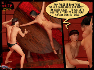 3d cartoon porn. 3D BDSM Dungeon. - XXX Dessert - Picture 3