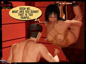 3d cartoon porn. 3D BDSM Dungeon. - XXX Dessert - Picture 9