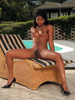 Black xxx. Exotic ebony beauty with nice - XXX Dessert - Picture 13