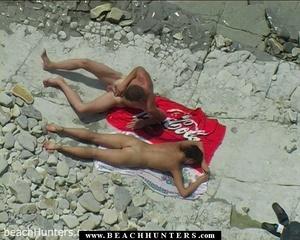 Hidden camera porn. Nude tanned babe fon - XXX Dessert - Picture 1