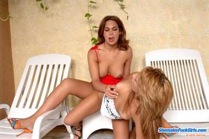 Heshe porn. Hottie bending over for fuck - XXX Dessert - Picture 12