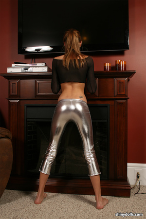Latex erotic. Shiny Dolls. - XXX Dessert - Picture 4