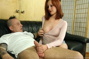 Best handjobs porn. Skank jerks off hard - XXX Dessert - Picture 5